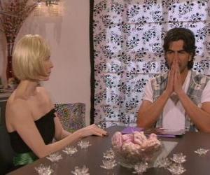 Puzle Mluvící Blanca a Leandro