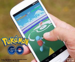 Puzle Mobilní s app Pokémon GO