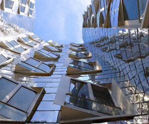 Puzle Moderní budovy