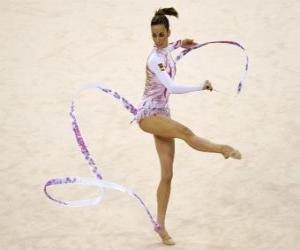 Puzle Moderní gymnastika - Individuální cvičení páska