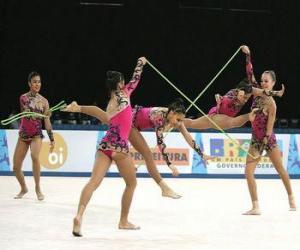 Puzle Moderní gymnastika