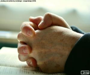Puzle Modlit se rukou