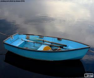 Puzle Modrá loď