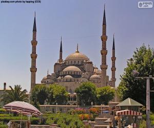Puzle Modrá mešita, Turecko