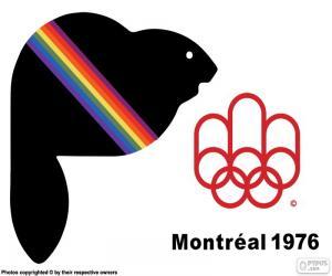 Puzle Montreal 1976 letní olympijské hry