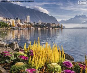 Puzle Montreux, Švýcarsko