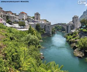 Puzle Mostar, Bosna a Hercegovina