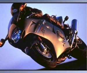Puzle Moto sport s jeho pilotní