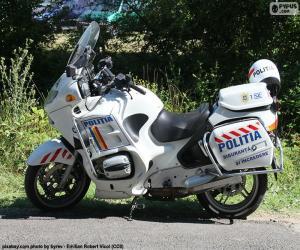 Puzle Motorka policie, Rumunsko