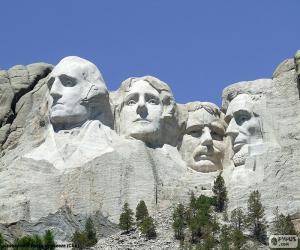 Puzle Mount Rushmore, Spojené státy