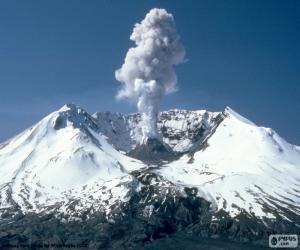 Puzle Mount St. Helens