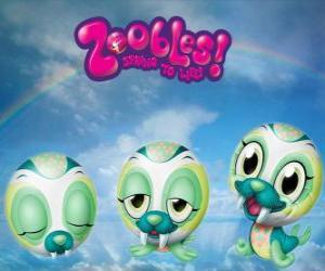 Puzle Mrož Zooble z Chillville