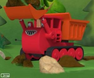 Puzle Muck, buldozer