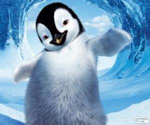 Puzle Mumble je tučňák císařský