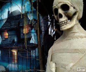 Puzle Mumie a strašidelný dům