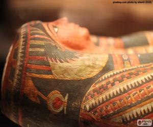 Puzle Mumie faraona