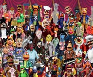 Puzle Muppets znaky