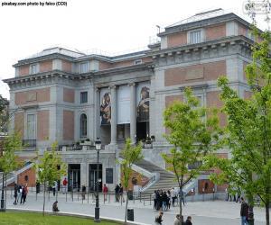 Puzle Muzeum Prado, Madrid