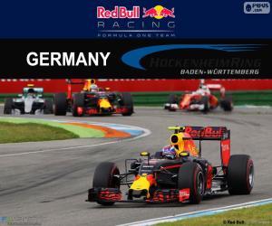 Puzle M.Verstappen GP Německa 2016