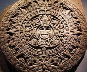 Puzle Mystic aztécký kalendář
