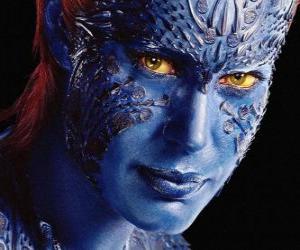 Puzle Mystique je lidský mutant supervillain, která dokáže proměnit se v každém humanoid