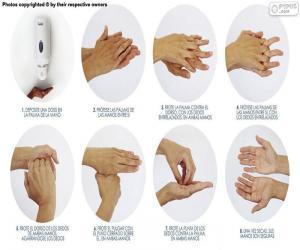 Puzle Mytí rukou