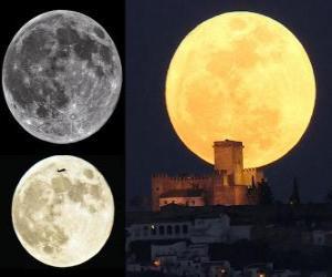 Puzle Nádhera super Měsíce (19. března 2011)