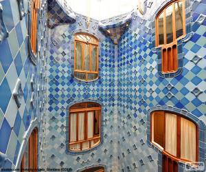 Puzle Nádvoří, Casa Batlló