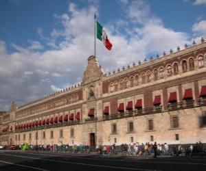 Puzle Národní palác, Mexiko