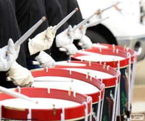 Puzle Několik bicí