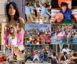 Puzle Několik fotografií z High School Musical 2