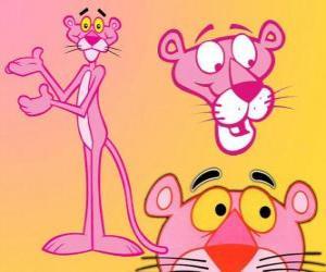 Puzle Několik obrázků z The Pink Panther