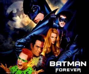 Puzle Několik znaků Batman