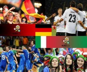 Puzle Německo - Itálie, semi-finále eura 2012