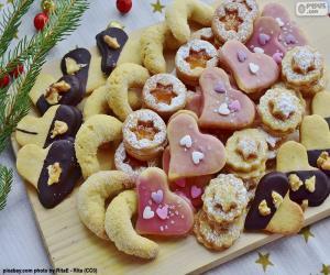 Puzle Nabídka vánočního cukroví
