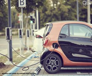 Puzle Nabíjení elektromobilů