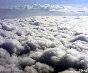 Puzle Nad mraky