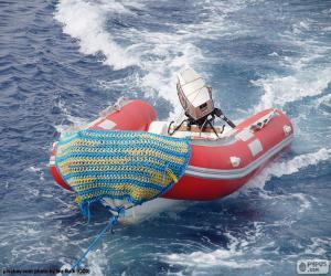 Puzle Nafukovací člun