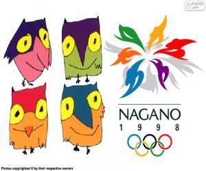 Puzle Nagano 1998 zimní olympijské hry