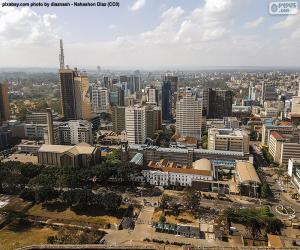 Puzle Nairobi, Keňa