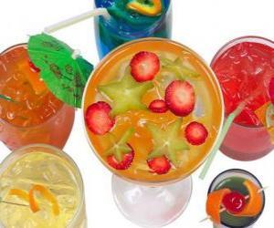 Puzle Nealkoholické nápoje