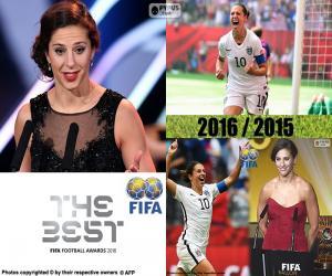 Puzle Nejlepší FIFA ženy hráč 2016