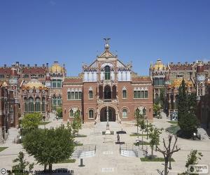 Puzle Nemocnice Svatého Pavla, Barceloně