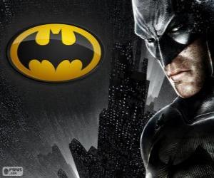 Puzle Netopýří muž, superhrdina Batman