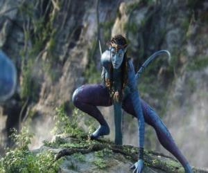 Puzle Neytiri, na'vi, rasa humanoidů z planety Pandora s dlouhým ocasem
