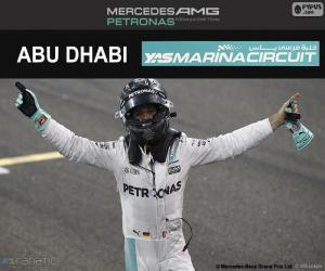 Puzle Nico Rosberg, šampion F1 2016