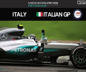 Puzle Nico Rosberg, G.P Itálie 2016