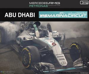 Puzle Nico Rosberg, Grand Prix Abú Zabí 2016