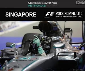 Puzle Nico Rosberg, Grand Prix Singapuru 2016