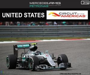 Puzle Nico Rosberg, Grand Prix USA 2016